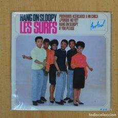 Discos de vinilo: LES SURFS - HANG ON SLOOPY + 3 - EP. Lote 128270688