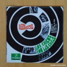 Discos de vinilo: LOS BRAVOS - LOS CHICOS CON LAS CHICAS + 3 - EP. Lote 128271003