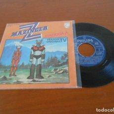 Discos de vinilo: MAZINGER Z AFRODITA A - SINGLE VERSION ORIGINAL TV. Lote 128274947