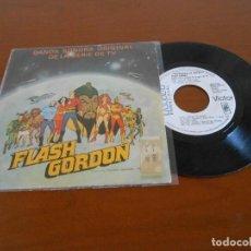 Discos de vinilo: FLASH GORDON - BANDA SONORA ORIGINAL DE LA SERIE DE TV - SINGLE PROMOCIONAL. Lote 128275319