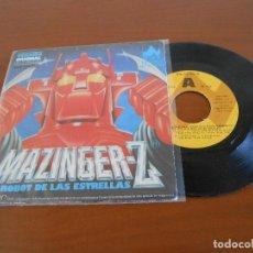 Discos de vinilo: MAZINGER Z - EL ROBOT DE LAS ESTRELLAS - VERSION ORIGINAL DE LA PELICULA. Lote 128275455