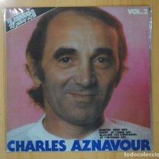 Discos de vinilo: CHARLES AZNAVOUR - CHARLES AZNAVOUR VOL. 2 - 2 LP. Lote 128275828