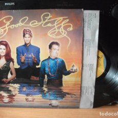 Discos de vinilo: THE B-52'S GOOD STUFF LP GERMANY 1992 PDELUXE. Lote 128280671