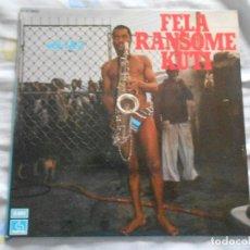 Discos de vinilo: FELA RANSOME KUTI - VOL. 1 Y 2 -, LP, SHAKARA (OLOJE) + 7 , AÑO 1977 MADE IN FRANCE. Lote 128281223