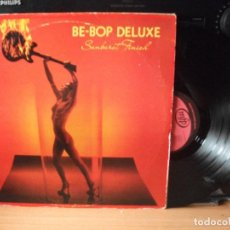 Discos de vinilo: BE BOP DELUXE SUNBURT FINISH LP SPAIN 1983 PDELUXE. Lote 128282815