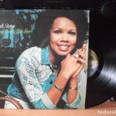 Discos de vinilo: CANDI STATON YOUNG HEARTS TUN FREE LP SPAIN 1976 PDELUXE. Lote 128283839