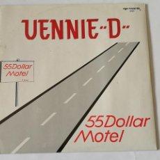 Discos de vinilo: VENNIE D - 55 DOLLAR MOTEL - 1988. Lote 128287179