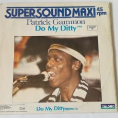 Discos de vinilo: PATRICK GAMMON - DO MY DITTY - 1983. Lote 128291859