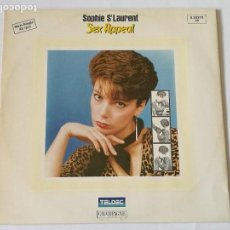 Discos de vinilo: SOPHIE ST LAURENT - SEX APPEAL - 1983. Lote 128291999