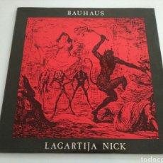 Discos de vinilo: BAUHAUS - LAGARTIJA NICK. Lote 128294267