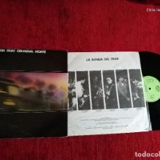 Disques de vinyle: LA BANDA DEL TREN TERMINAL NORTE CON ENCARTE +BIO NUEVO A ESTRENAR . Lote 128296475