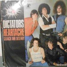 Discos de vinilo: DICTATORS - HEARTACHE. Lote 128298307