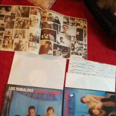 Discos de vinilo: LOS RONALDOS SACA LA LENGUA EL MISMO LP EN DOS EDICIONES DISTINTAS COMPROBAR CRÉDITOS PARTE INFERIOR. Lote 128299791