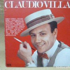 Discos de vinilo: CLAUDIO VILLA-LP. Lote 128303415