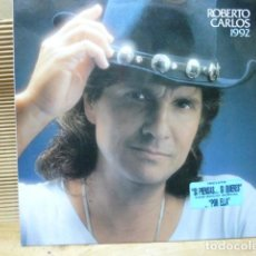 Discos de vinilo: ROBERTO CARLOS 1992 CANTA UN TEMA CON ROCIO DURCAL. Lote 128305659