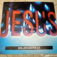 Discos de vinilo: THE JESUS AND MARY CHAIN – ROLLERCOASTER E.P. 4 TEMAS GERMANY 1990 ALTERNATIVE ROCK . Lote 128306291