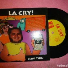Discos de vinilo: LA CRY MINI THIN / BAD TATTOO / 2+ EP 1996 PUNK 7 (EX-/VG++) R. Lote 128306723