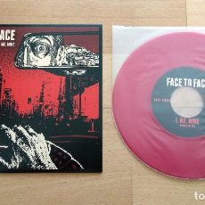 Discos de vinilo: SINGLE FACE TO FACE SAY WHAT YOU WANT RED FAT WRECK CHORDS 2017 RED NOFX PUNK HARDCORE. Lote 128317267