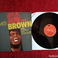Discos de vinilo: JAMES BROWN MIX SEX MACHINE MAXI EDICIÓN RARA ESPAÑOLA . Lote 128326615