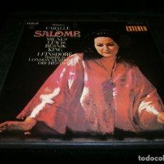 Discos de vinilo: LOTE DE DOS LP MONTSERRAT CABALLÉ EN SALOME DE STRAUSS DIRIGIDA POR LEINSDORE ORQU. DE LONDRES 1970. Lote 128330411