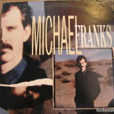 Discos de vinilo: MICHAEL FRANKS - THE CAMERA NEVER LIES - WB RECORDS 1987 - LP - IBL -. Lote 128335583