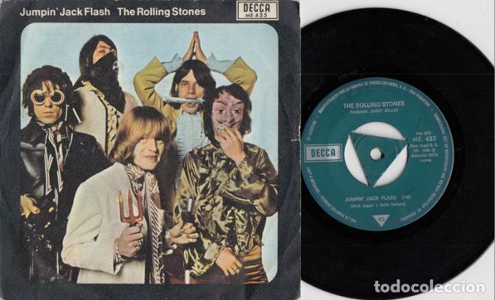 The rolling stones - jumpin' jack flash - singl - Vendido en Venta Directa  - 128339411
