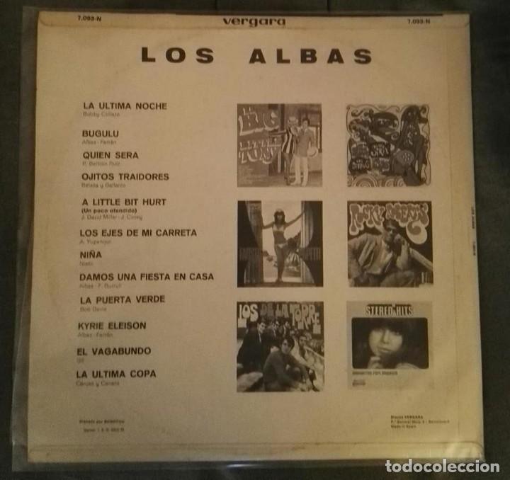Discos de vinilo: los albas lp 12 temas 1969 EXCELENTE ESTADO - Foto 2 - 128340335