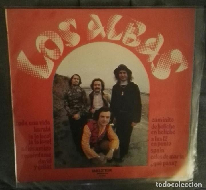 LOS ALBAS LP BELTER (Música - Discos - LP Vinilo - Grupos Españoles 50 y 60)
