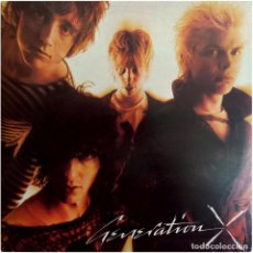 Discos de vinilo: GENERATION X (BILLY IDOL) - GENERATION X - LP USA 1978 - CHRYSALIS CHR 1169. Lote 128345031
