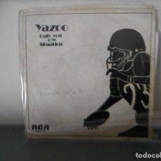 Discos de vinilo: YAZOO - ONLY YOU. Lote 128348927