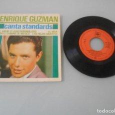 Discos de vinilo: EP AÑO 1963 DE ENRIQUE GUZMÁN .-. Lote 128349171