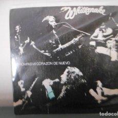 Discos de vinilo: WHITESNAKE - NO ROMPAS MI CORAZON. Lote 128350447