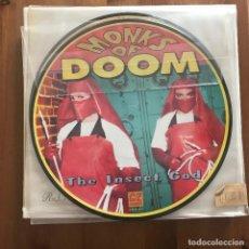 "Discos de vinilo: MONKS OF DOOM - THE INSECT GOD - MAXISINGLE DE 10"" C/Z USA 1992. Lote 128350899"