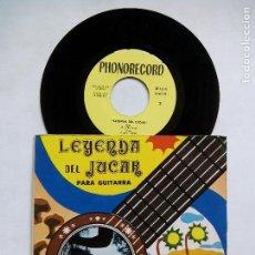 Discos de vinilo: SEGUNDO PASTOR. LEYENDA DEL JUCAR PARA GUITARRA. EP PHONORECORD IB-45-148. ESPAÑA 1974. FIRMADO.. Lote 128354179
