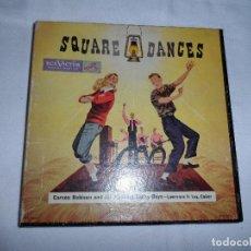 Discos de vinilo: CARSON ROBISON ?– SQUARE DANCES (USA 1949) (CAJA 3 SINGLES). Lote 128357719