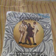Discos de vinilo: GLADYS KNIGHT THE PIPS THE NITTY GRITTY GOT MY SELF A GOOD MAN PROMO EDITADO EN ESPAÑA. Lote 128357867