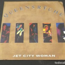 Discos de vinilo: QUEENSRYCHE. JET CITY WOMAN/ I DREAM IN INFRARED. Lote 128360347