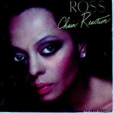 Discos de vinilo: DIANA ROSS / CHAIN REACTION / ,ORE AND MORE (SINGLE 1985). Lote 128360631