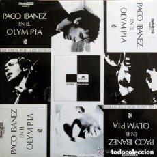 Discos de vinilo: PACO IBAÑEZ - EN EL OLYMPIA - DOBLE LP EDICION ESPAÑOLA, POLYDOR 1972. Lote 128369195