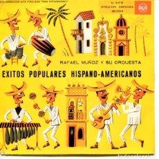 Discos de vinilo: RAFAEL MUÑOZ / PERFUME DE GARDENIA + 7 (EP 1959). Lote 128370967