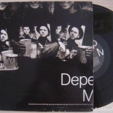 Discos de vinilo: DEPECHE MODE - EVERYTHING COUNTS NOTHING - MAXI SINGLE 1989 - SANNI - 4 TEMAS. Lote 128372819