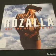 Discos de vinilo: ROZALLA-SINGLE ARE YOU READY TO FLY-PROMO 1992. Lote 128372955
