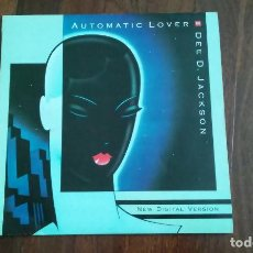 Discos de vinilo: DEE D. JACKSON-AUTOMATIC LOVER.NEW DIGITAL VERSION.MAXI ESPAÑA. Lote 128385867