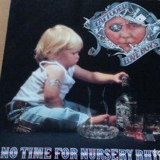 Discos de vinilo: TATTOOED LOVE BOYS NO TIME FOR NURSERY RHYMES LP 1991 INSERTO. Lote 128387499