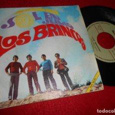 Discos de vinilo: LOS BRINCOS SOL EN JULIO/ANANAI 7'' 1968 NOVOLA. Lote 128390363