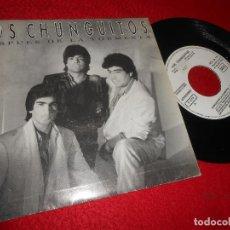 Discos de vinilo: LOS CHUNGUITOS DESPUES DE LA TORMENTA 7'' 1986 EMI PROMO UNA CARA. Lote 128390639