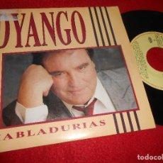 Discos de vinilo: DYANGO HABLADURIAS/EUROPA 7'' 1990 EMI PACO DE LUCIA. Lote 128391147