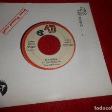 Discos de vinilo: DRAMA EN LOS BOSQUES 7'' 1990 ATI PROMO DOBLE CARA. Lote 128391843