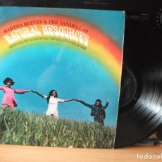 Discos de vinilo: MARTHA REEVES & THE VANDELLAS NATURAL RESOURCES LP UK 1970 PDELUXE. Lote 128392619