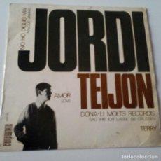 Discos de vinilo: JORDI TEIJON NO HO DIGUIS MAI - EP 1965 + ENCARTE - EN MUY BUEN ETADO.. Lote 128414067